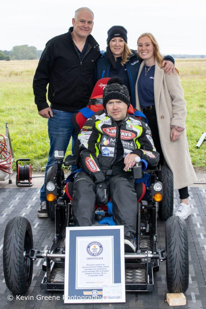 Jason Liversidge pictured with Heald